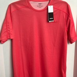 Men's Adidas Performance D2M Tee, Active Red, Med